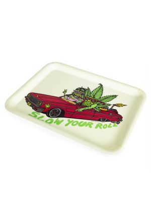 420 Science Rolling Tray - Slow your Roll