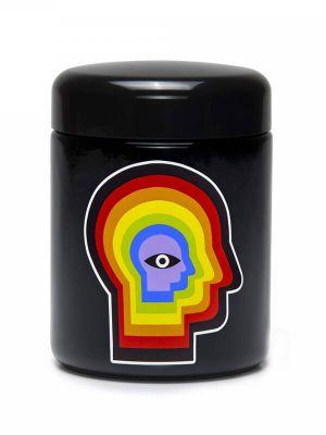 420 Science UV Screw-Top Glass Jar - Rainbow Mind