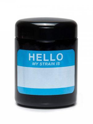 420 Science UV Screw-Top Glass Jar - Hello Write & Erase