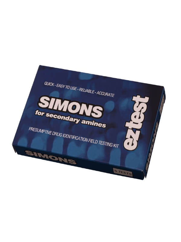 EZ Test Kit Simons Reagent for Secondary Amines