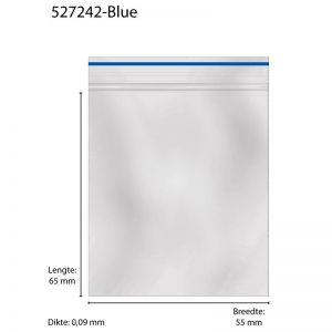Grip Bags 55 X 65 X 0,09MM 1000 PCS