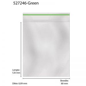 Grip Bags 80 X 120 X 0,09MM 1000 PCS