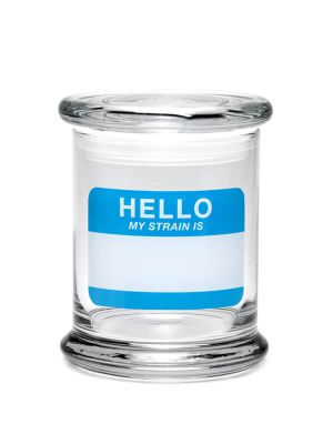 420 Science Pop Top Jar - Hello Write & Erase