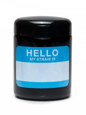 420 Science UV Screw-Top Glass Jar - Hello Write & Erase