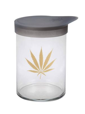 420 Science Wide Mouth Jar - Gold Leaf