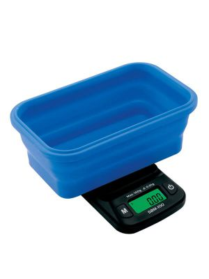 On Balance SBM-100 Scale with Blue Collapsible Silicone Bowl