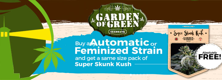 Garden Of Green Free Seeds Promotion