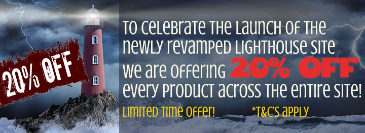 Lighthouse revamped: 20% OFF